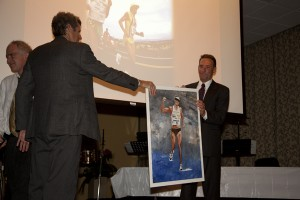 Dave Scott at Boulder Sports Hall of Fame