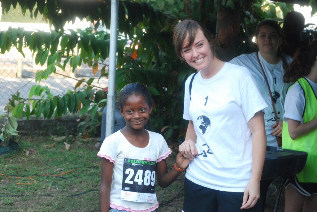 Chelsea Koenigseker is a veteran of the annual Belize shoe distribution. Chelsea is helping lead a group of 20 Ohio State University again in March. Thank you, Chelsea!