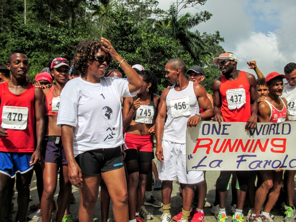 One World Running La Farola run in Cuba